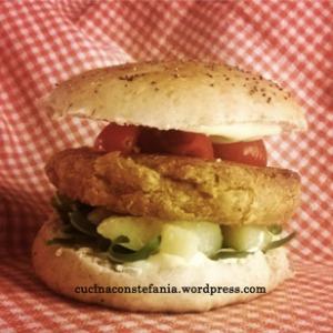 Vegan-Hamburger