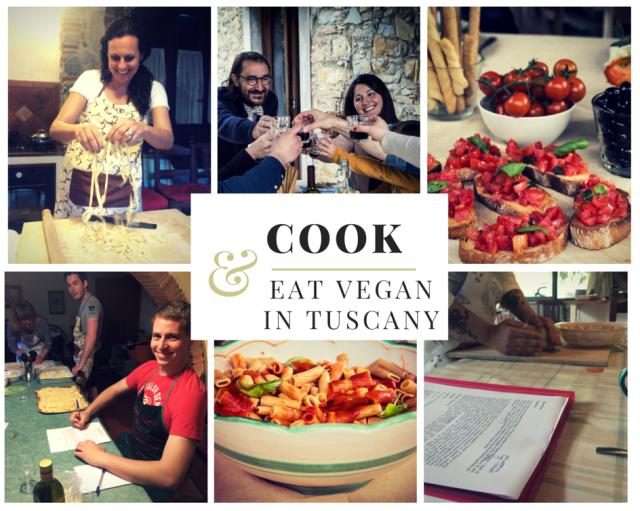Cook & eat vegan in tuscany